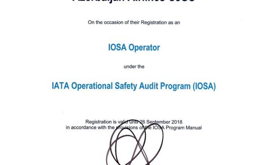 AZAL-ın İOSA auditinin nəticələri açıqlanıb