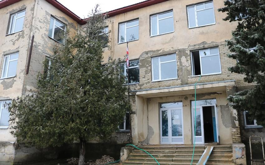 Gürcüstanda azərbaycandilli məktəbin binası bərpa olunur