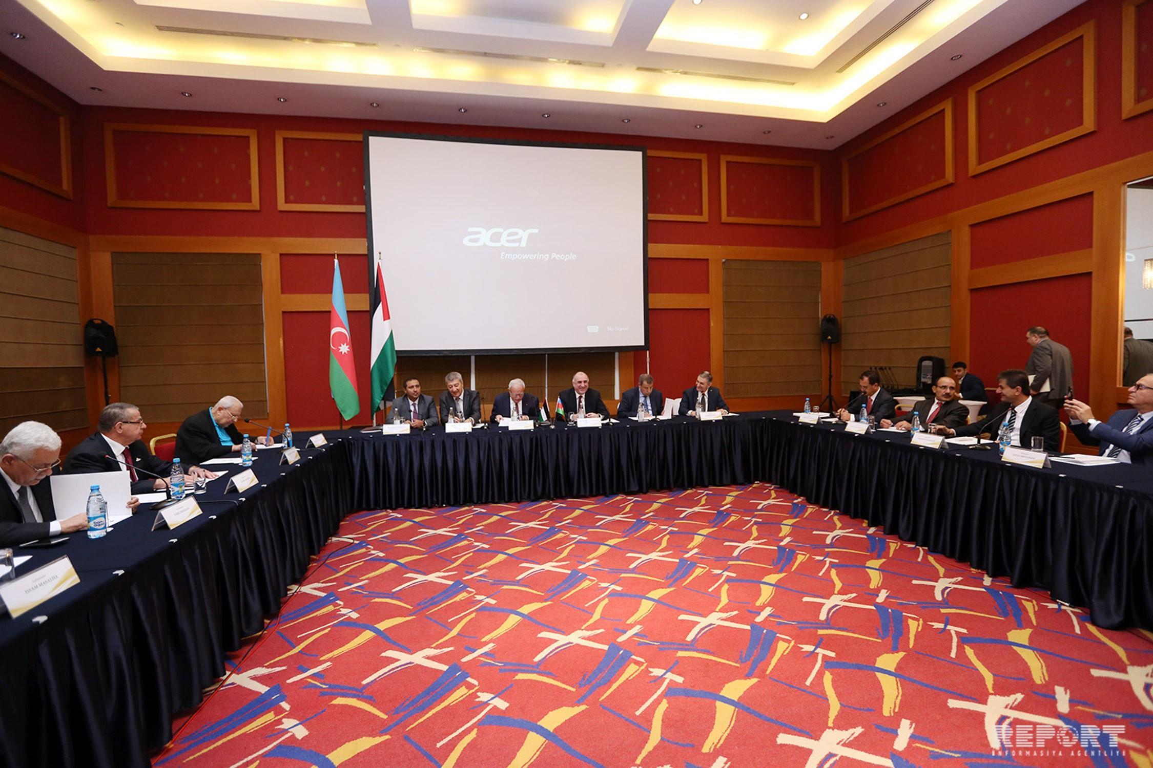 В Баку проходит заседание послов Государства Палестина в странах Азии