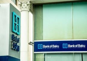 """""""Bank of Baku"""" bu ilin 9 ayını mənfəətlə başa vurub"""