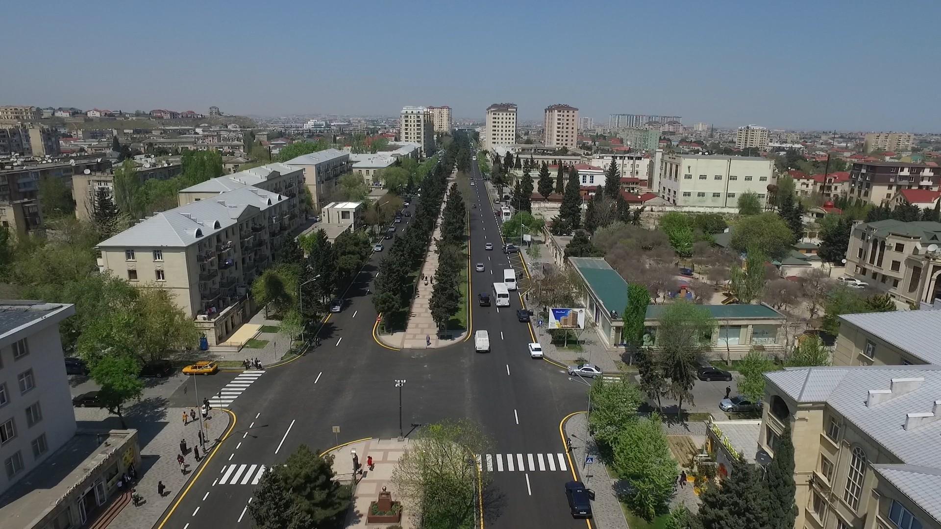 В Баку реконструирована дорога, объединяющая Сабунчинский и Сураханский районы
