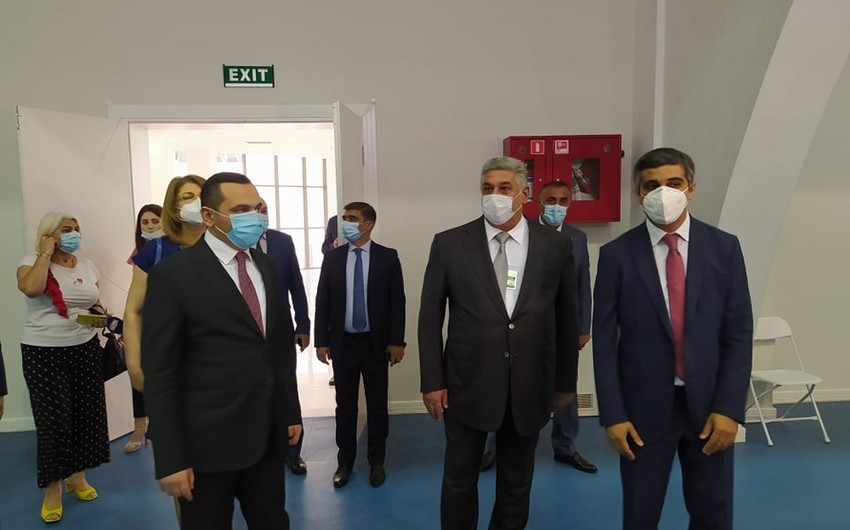 Azərbaycanda iki Olimpiya İdman Kompleksi müvəqqəti xəstəxanaya çevrilib