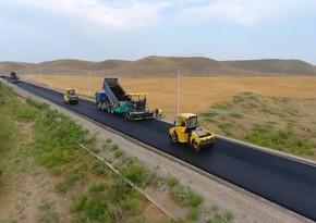 Zəfər yolunun asfaltlanmasına başlanılıb