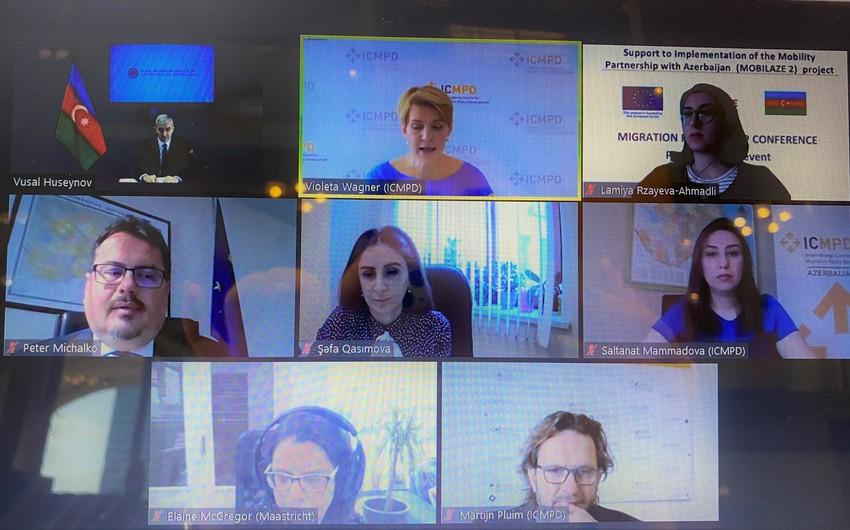 Ombudsmanın nümayəndəsi miqrasiya tərəfdaşlığı üzrə beynəlxalq konfransda iştirak edib