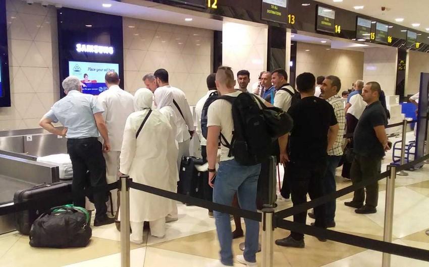 В Саудовскую Аравию отправилась первая группа азербайджанских паломников