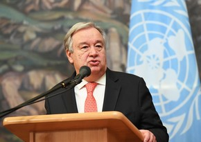 UN Secretary-General on start of new arms race