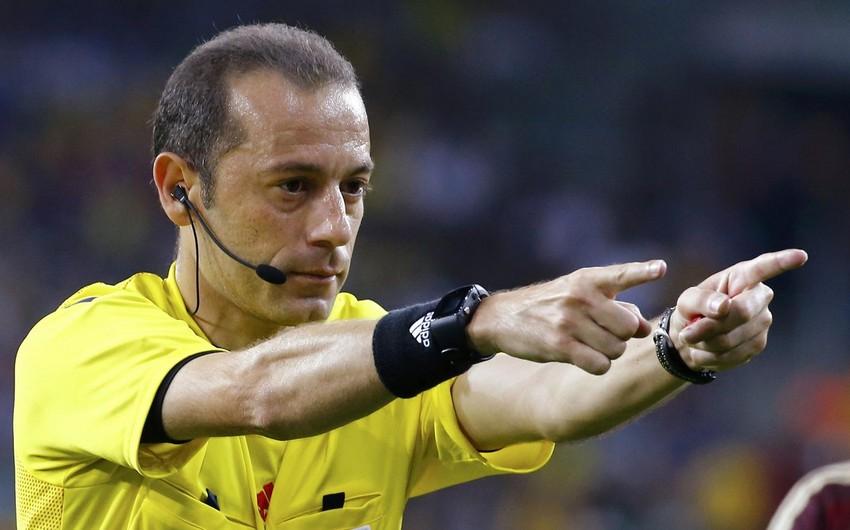 Турецкий рефери будет судить матч Италия-Испания на Евро-2016
