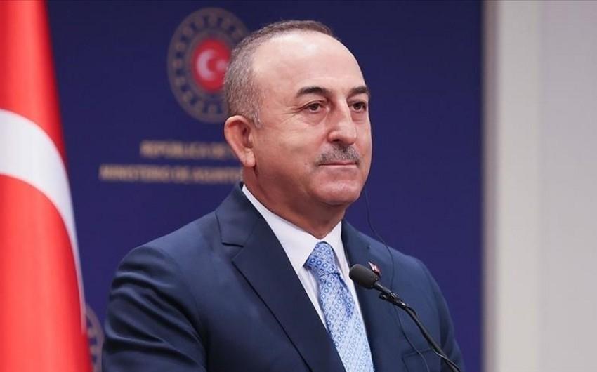 Çavuşoğlu: Taliban Ankaradan humanitar yardımın davam etməsini istəyib