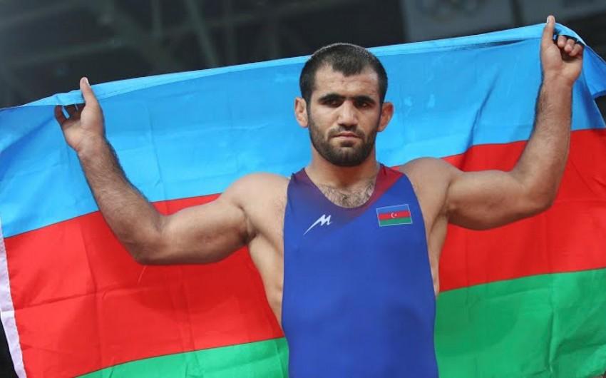 Güləşçi Cəbrayıl Həsənov Olimpiadada bürünc medal qazanıb