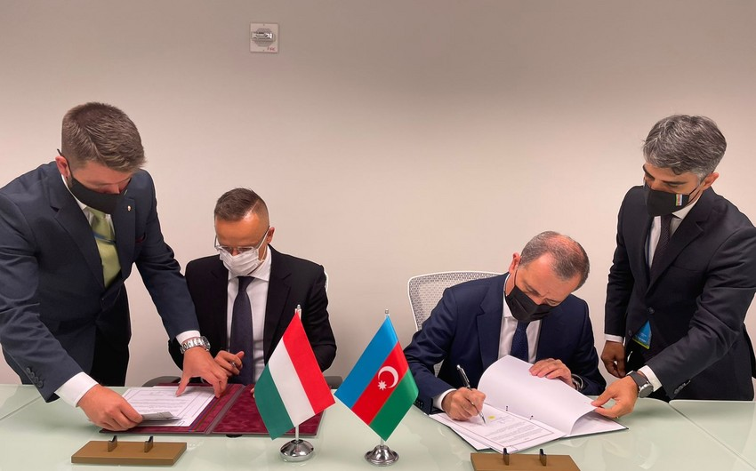 Azerbaijan, Hungary sign cooperation agreement