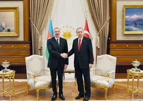 Ərdoğan Azərbaycan Prezidentinə telefonla zəng etdi