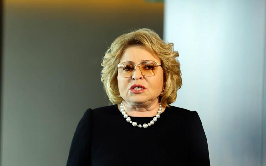 Valentina Matviyenko: Azərbaycan bizim strateji tərəfdaşımızdır
