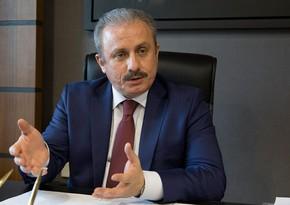Türkiyə parlamentinin sədri: Dosta və düşmənə birliyimizin gücünü göstərdik