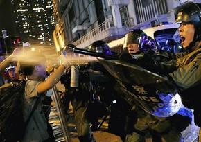 Hong Kong: Police detain more than 70 protesters