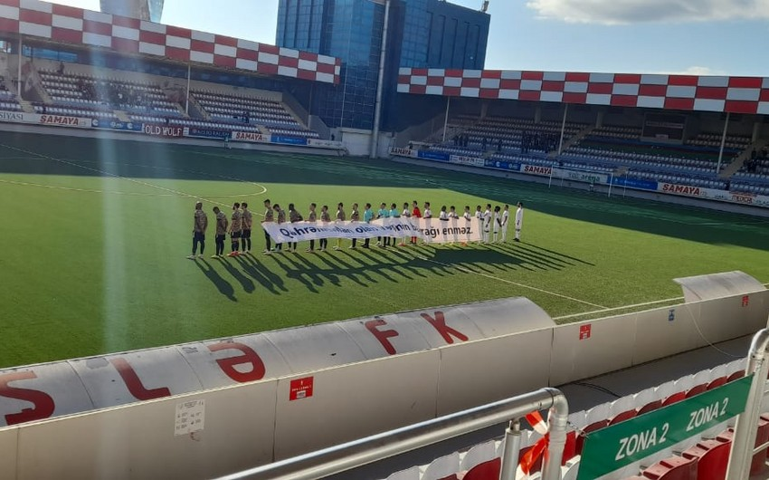 Футболисты Карабаха помянули память шехидов
