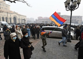 Armenians close streets demanding Pashinyan's resignation