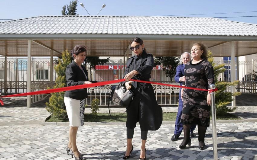 Первый вице-президент Мехрибан Алиева приняла участие в открытии яслей-детского сада номер 226 в поселке Пиршаги