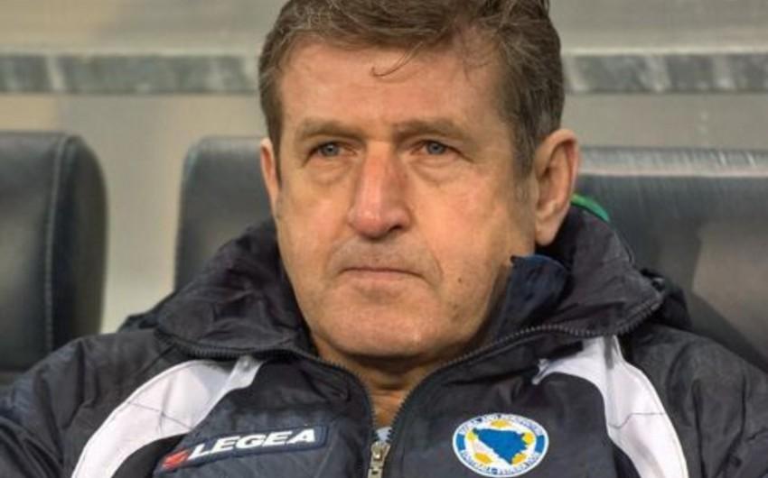 Тренер Саффет Сушич отправлен в отставку