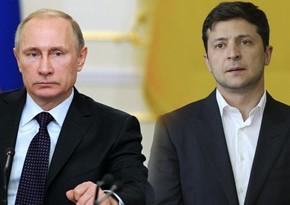 Zelenski Putinlə Vatikanda görüşmək istəyir