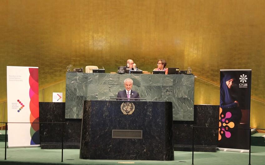 Вице-премьер Азербайджана рассказал о карабахском конфликте на Генассамблее ООН