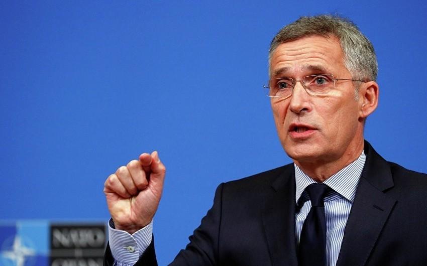 NATO-nun baş katibi Fransanı 5-ci maddəyə hörmət etməyə çağırıb