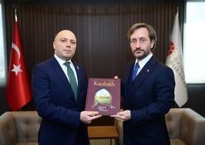 Anar Kərimov Türkiyə Prezident Administrasiyasının rəsmisi ilə görüşüb