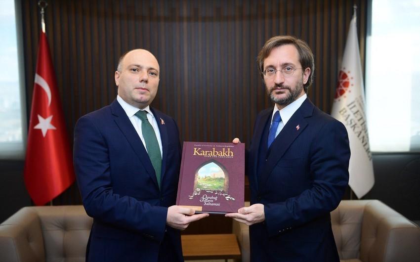 Анар Керимов встретился с представителем Администрации президента Турции