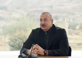 Azerbaijan to restore Fuzuli city and villages of district, President Aliyev says