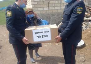 В Дашкесане полицейские раздали подарки семьям шехидов
