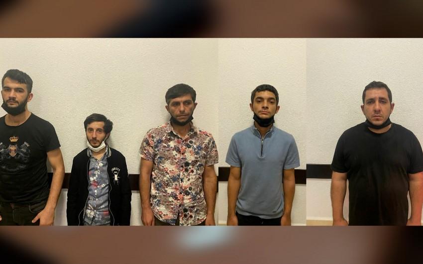 Bakıda narkokuryerlik edən daha 5 nəfər saxlanılıb