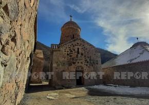 Murov dağından Kəlbəcərə, Xudavəng monastırına səyahət