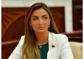 """Könül Nurullayeva: """"Dünya ictimaiyyəti Ermənistanın bu vəhşiliklərinə göz yumduqca terrorun miqyası daha da genişlənir"""""""