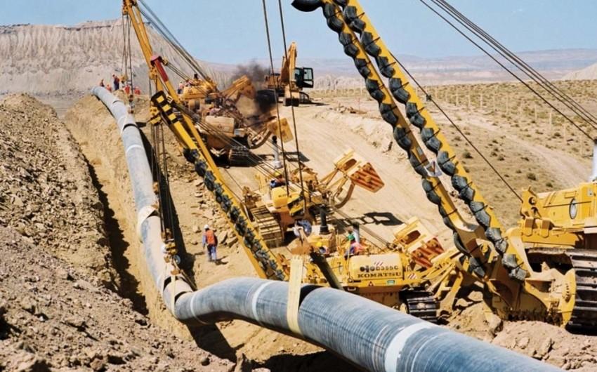 TAP kəməri borularının inşası üçün 75 min ton metal rulon daşınıb