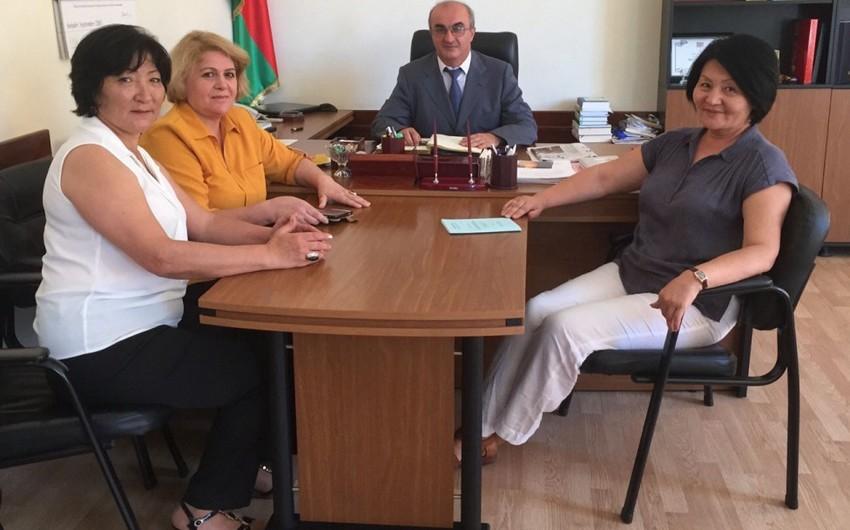 BSU-da Türkiyə və Qazaxıstan universitetlərinin nümayəndə heyətləri ilə görüş keçirilib
