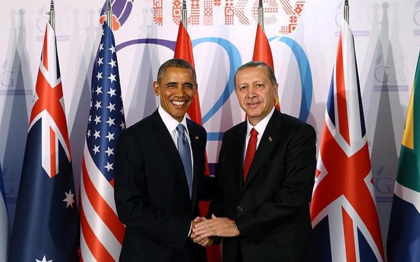 Obama və Ərdoğan İŞİD-lə mübarizə üzrə növbəti addımları müzakirə ediblər