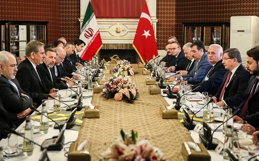 Türkiyə-İran iqtisadi komissiyası işə başlayıb