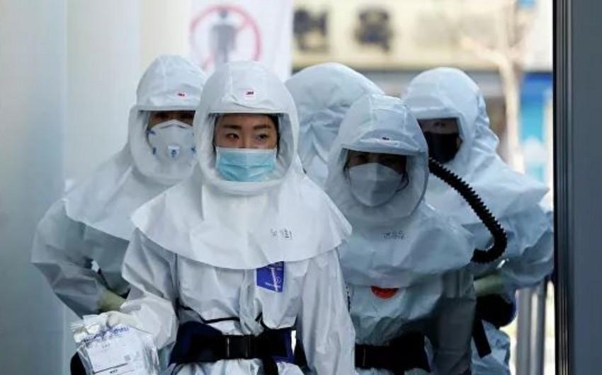 Cənubi Koreyada COVID-19-a yoluxanların sayı 10,5 min nəfəri ötdü