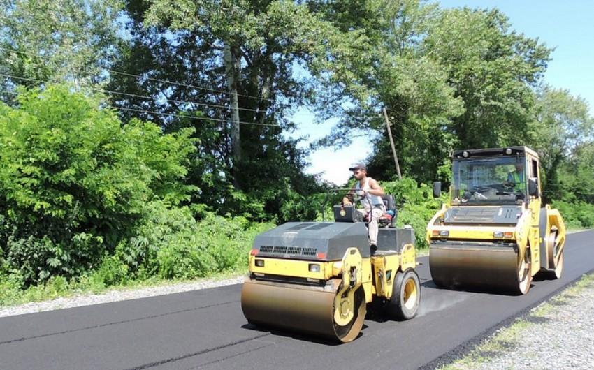 Quba-Xaçmaz avtomobil yolu əsaslı təmir olunur