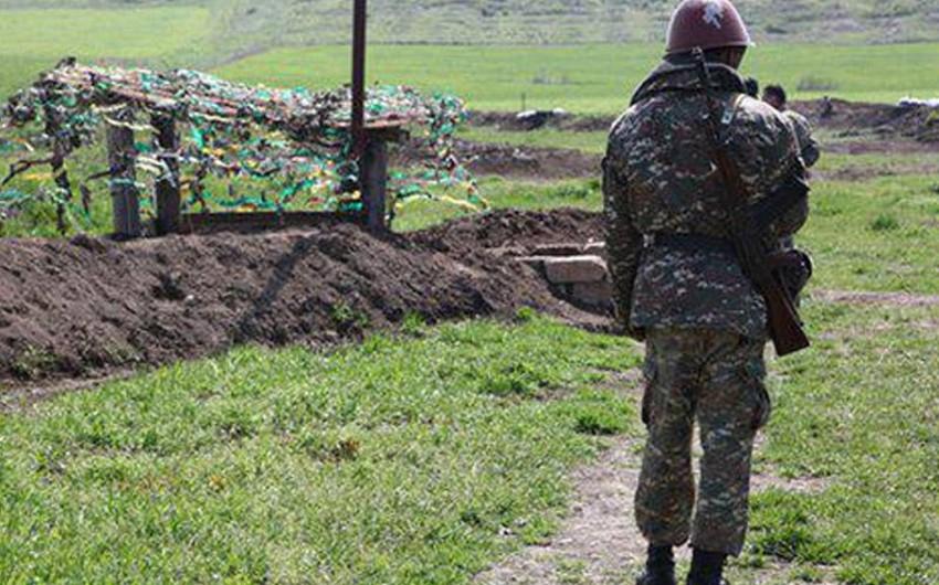 Dağlıq Qarabağda Ermənistan hərbçisi yaralanıb