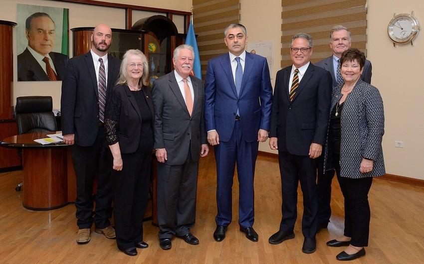 Министр транспорта Азербайджана принял американскую делегацию