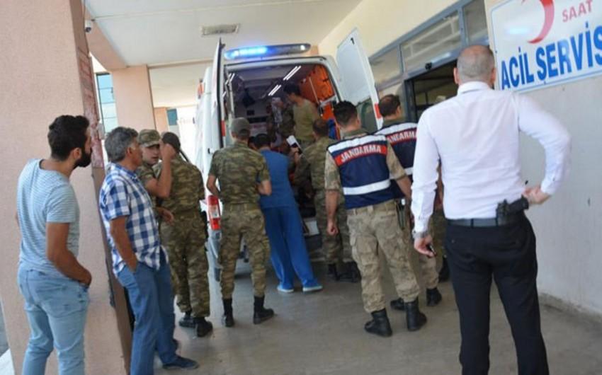 Türkiyə-İran sərhədində partlayış olub, 5 hərbçi yaralanıb