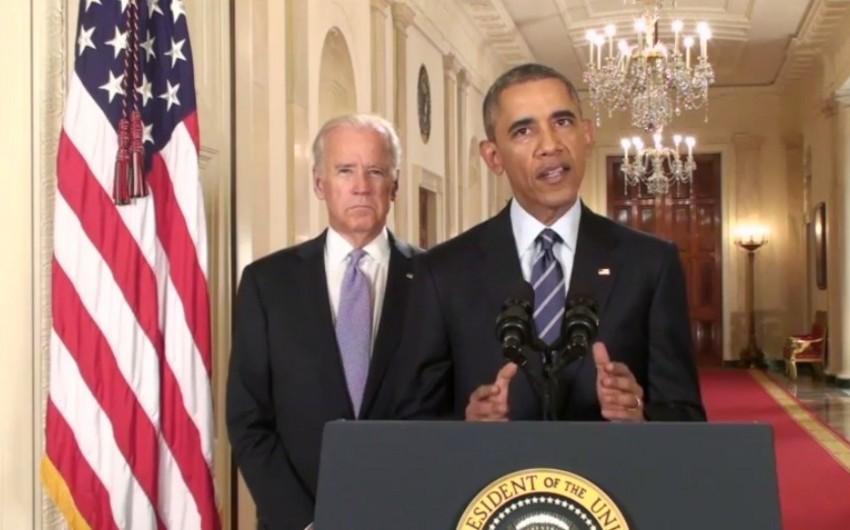 Obama: İran tərəfi müqaviləni pozarsa, sanksiyalar bərpa ediləcək