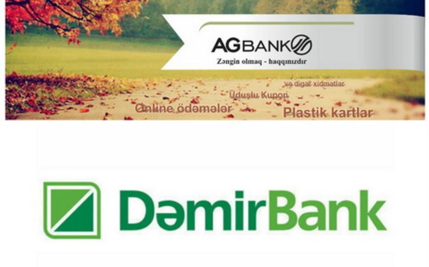 AGBank DəmirBankla birləşməsiylə bağlı məlumat yayıb