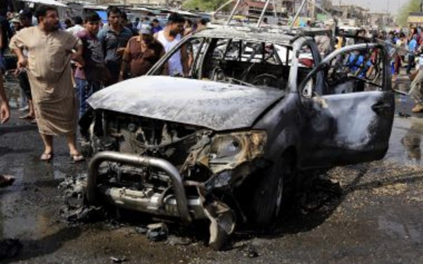 İŞİD Bağdaddakı terror aktlarına görə məsuliyyəti öz üzərinə götürüb