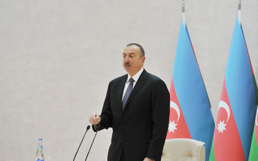 President: The conflict's settlement gets closer as Azerbaijan strengthens