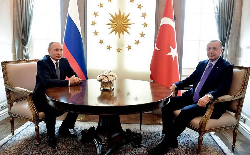 Путин и Эрдоган обсудили ситуацию на армяно-азербайджанской границе