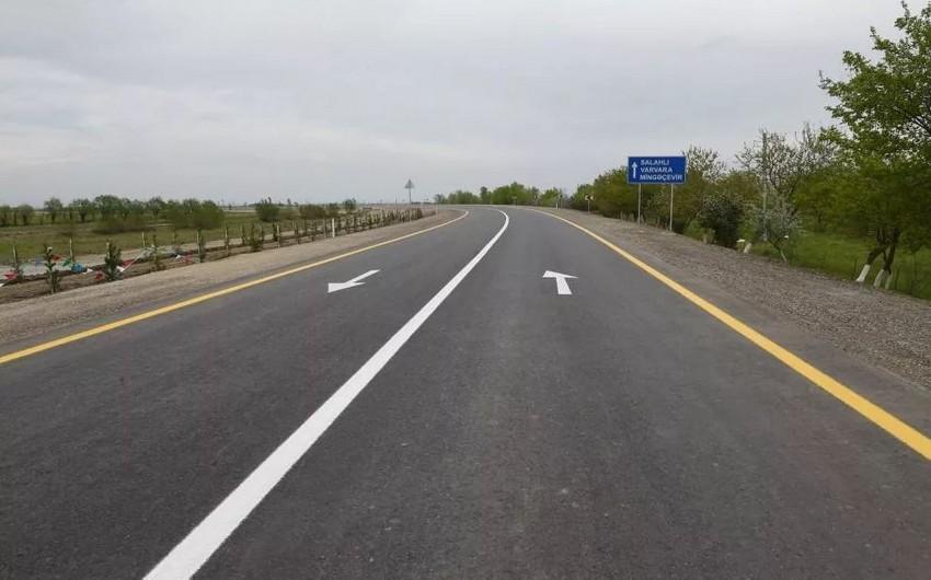 İsmayıllıda avtomobil yolunun tikintisinə 3,8 milyon manat ayrılıb
