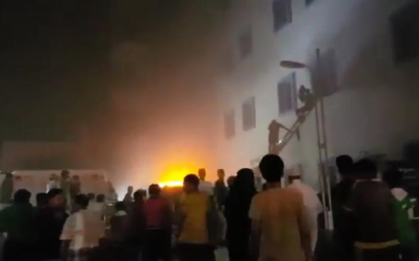 Səudiyyə Ərəbistanında xəstəxanada yanğın olub, 25 nəfər ölüb, 107 nəfər yaralanıb