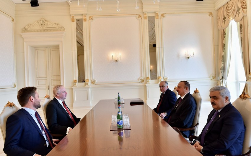 President Ilham Aliyev received BP Chief Executive Officer