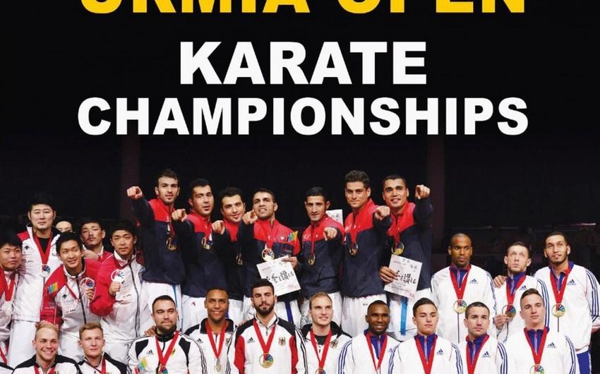 Azərbaycan karateçiləri Urmiyada beynəlxalq turnirə qatılıb